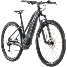 Cube Acid Hybrid ONE 500 E-mountainbike Trapez grå